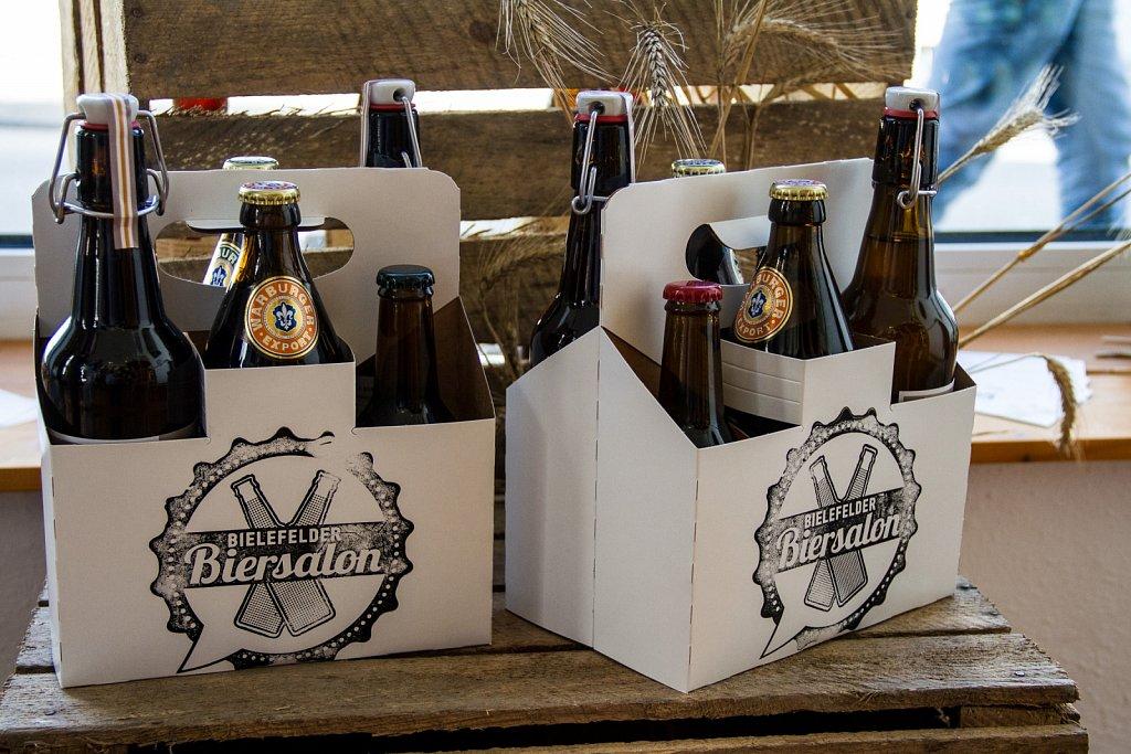 Eröffnung Bielefelder Biersalon